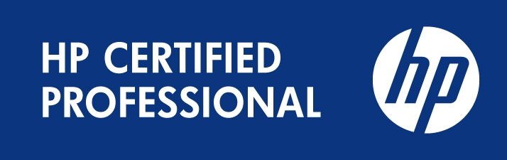 hp certified professional logo